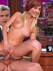 Cameron Diaz fucking Jay Leno in fake..
