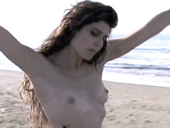 Nude celebrity Regina Nemni posing on..