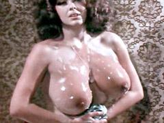 Roxanne Brewer naked washing in bath gigantic boobs