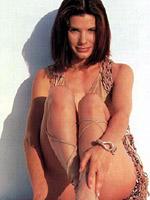 Celebrity Sandra Bullock posing in a..