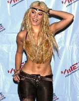 Shakira. See samples video with..