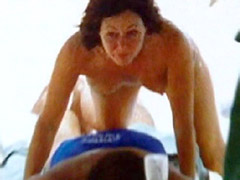 Naked celebrity Shannon Doherty. See..