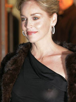 Sharon Stone showing breasts forth a..