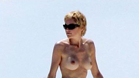 Sharon stone naked at beach absolutely agree