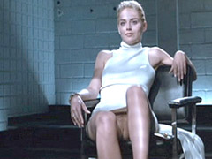 Sharon Stone giving us tantalizing..