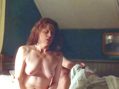 Sigourney Weaver removes her bra and has wild sex with guy