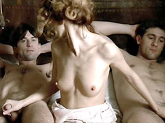 Stefania Casini topless jerking two..