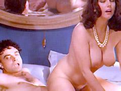 Busty Stefania Sandrelli naked riding..