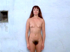 Tania Busselier nude washing in female shower of prison