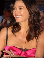 Naked photo celeb Teri Hatcher sparkles..