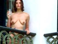 Teri Hatcher standing completely naked..