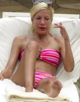 Tori Spelling. See samples video with..