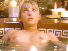 Sexy celebrity Tuva Novotny topless in..