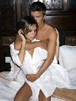 Photos of Victoria Beckham with her..